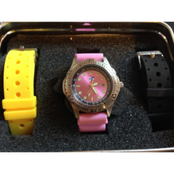 Horloge aanbieding 2 Roze