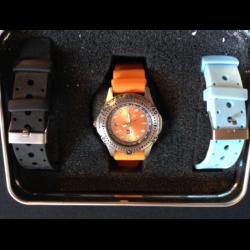 Horloge aanbieding 3 oranje