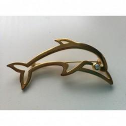 Speld dolfijn GOUD